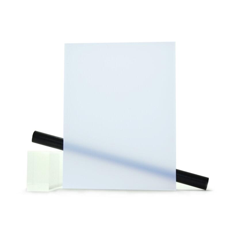 PMMA (Plexi) Bleu mat ep 6 mm