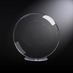 Sphère PMMA (Plexi) Incolore diam 200 mm