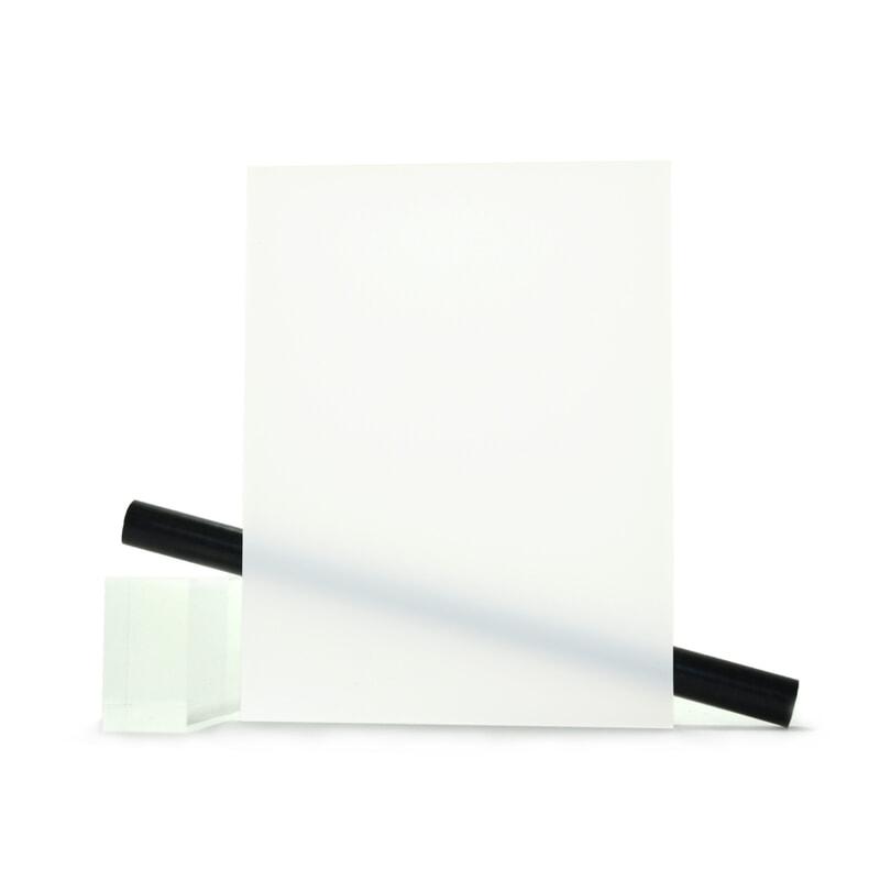 PMMA (Plexi) Blanc Brillant ep 6 mm
