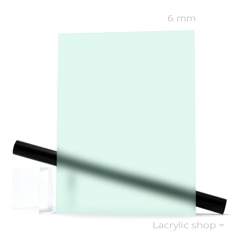 Plexiglas Satinice 6C03 Ice Green ep 6 mm