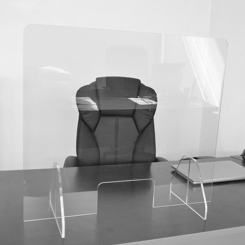 Protection Plexiglass hygiaphone pour comptoir