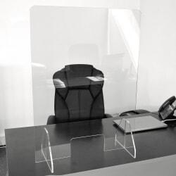Hygiaphone Protection de comptoir en Plexiglass 67x90 cm