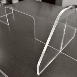 hygiaphone Protection de comptoir en Plexiglass avec socle