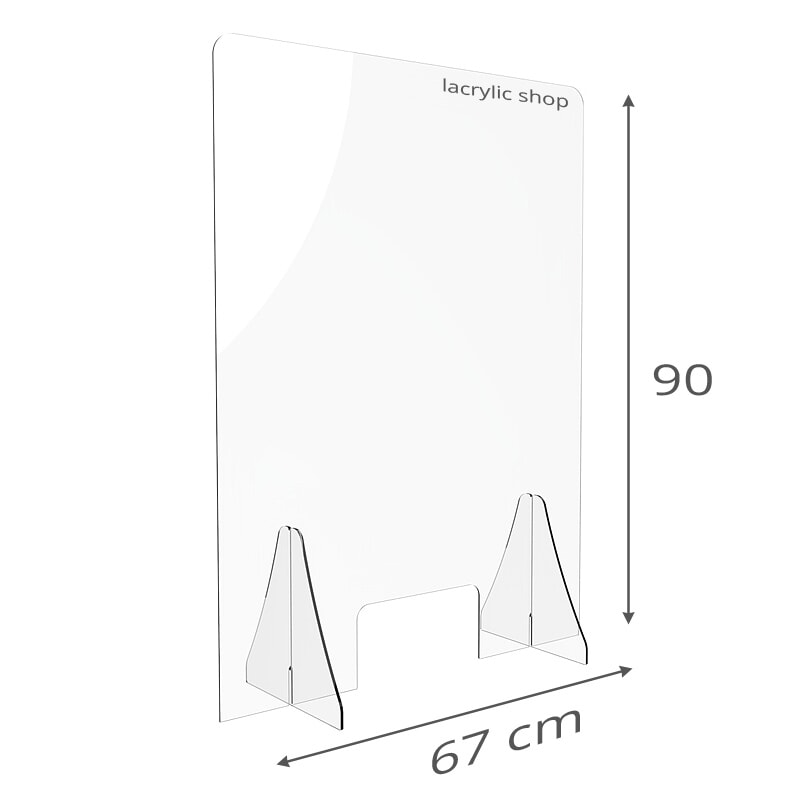 Protection Plexiglass Haut anti Covid
