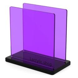Plexiglass sur mesure Teinté Violet ep 3 : Setacryl 1231