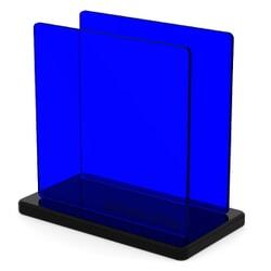 Plaque Plexiglass Teinté Bleu ep 3 | Altuglas 100-13000 (≈ Setacryl 1072, Perspex 7703, Plexiglas 5C01)