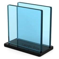 Plaque Plexiglass Fumé Bleu ep 8 | Altuglas 100-13032