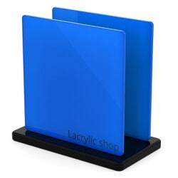 Plaque Plexiglass Bleu Clair Opal ep 3 | Altuglas 100-23008 (≈ Setacryl 2065, Perspex 727)