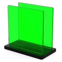 Plaque Plexiglass Teinté Vert Clair ep 3 | Setacryl 1050