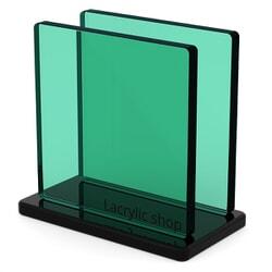 Plaque Plexiglass Fumé Vert pour Bateau et Garde corps ep 8 | Altuglas 100-14004