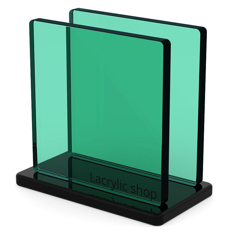 Plaque Plexiglass Fumé Vert pour Bateau et Garde corps ep 8   Altuglas 100-14004
