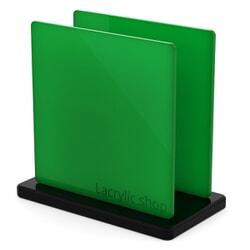 Plaque Plexiglass Vert Foncé Opal ep 3 | Altuglas 100-24015 (≈ Setacryl 2058, Perspex 650)