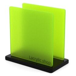 Plexiglas Vert Satinice 6H07 sur mesure