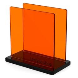 Plaque Plexiglass Orange ep 3 | Altuglas 100-15000 (≈ Setacryl 1013, Plexiglas 2C04, Perspex 300)